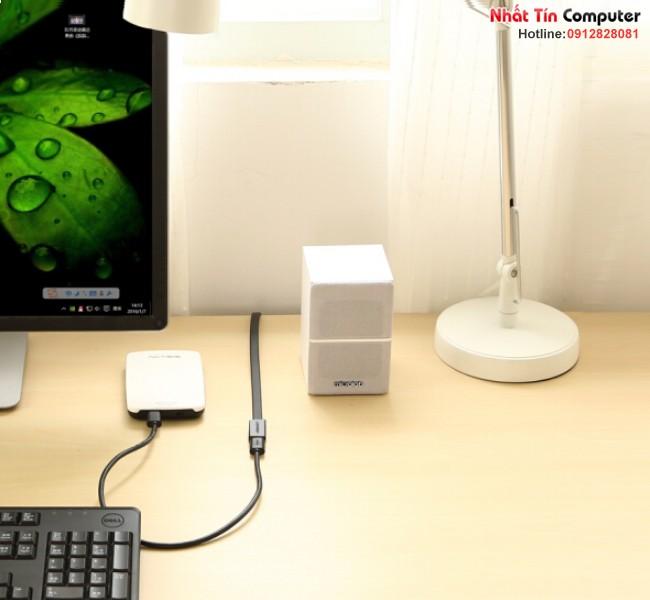 Cáp nối dài USB 3.0 0,5M âm dương Ugreen UG-30128 chính hãng