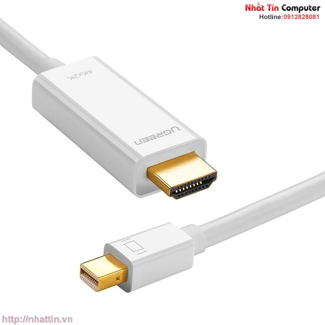 cap-mini-displayport-thunderbolt-to-hdmi-dai-2m-do-phan-giai-4k-ugreen-10452