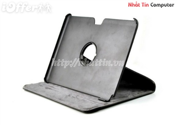 360 PU Leather Case For SAMSUNG Galaxy Note 10.1 N8000