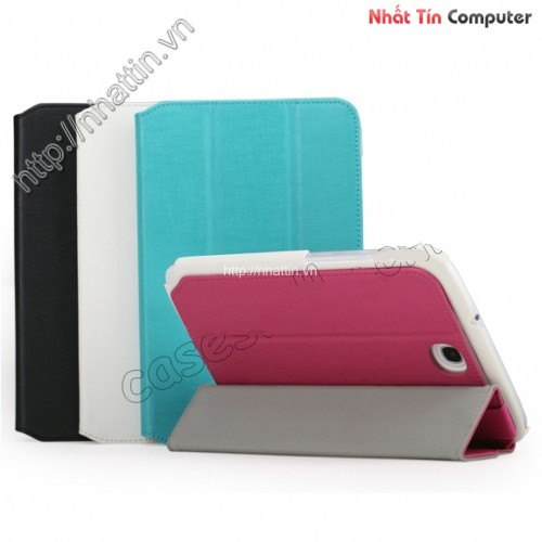 best price ROCK Flexible Series With Stand Leather Case for Samsung Galaxy 8.0 N5100 - Rose