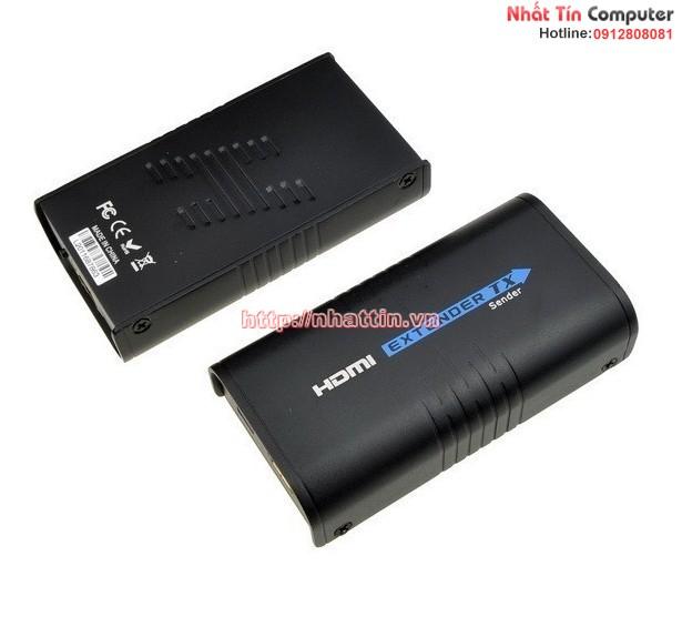 Thiết bị kéo dài cổng HDMI 100m và 120m qua dây mạng lan RJ45 Cat5e / CAT6 LKV373