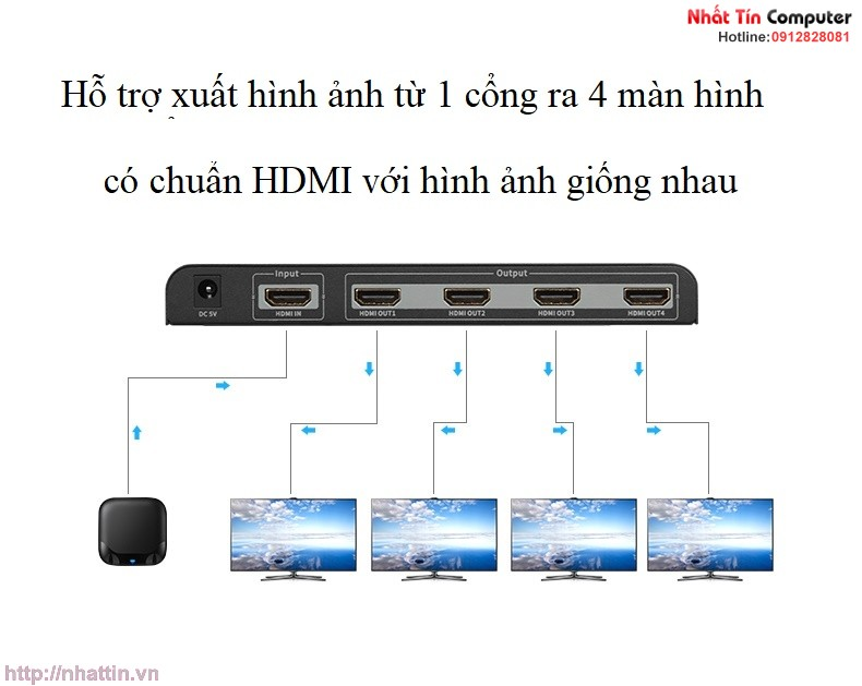 bo-chia-hdmi-1-ra-4-cong-4k-2k-unitek-y-5184a-