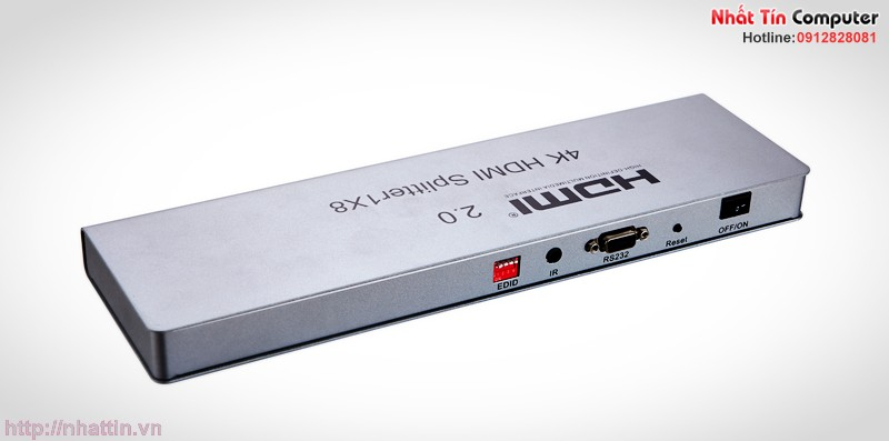 HDMI to Mipi 2/4/8 port HDMI splitter 2.0 4K HDMI 2.0,HDCP2.2 ,4K,IR extension,EDID management, RS232