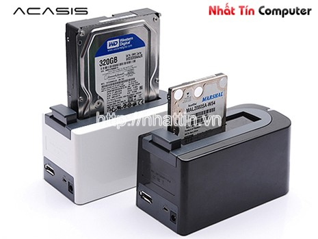 dock cho hdd, HDD Docking  ACASIS BA-11UE, dock cam o cung, HDD Docking, Docking HDD, docking ACASIS, khay dung o cung