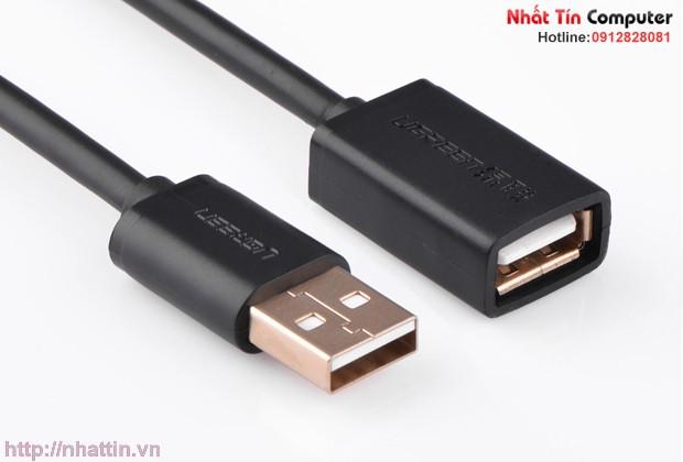 Cáp nối dài USB 2.0 mạ vàng Ugreen US136