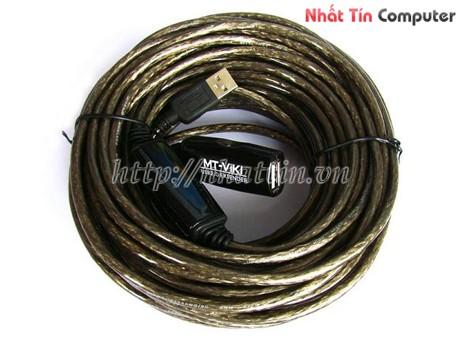 Bán Cáp nối dài USB 15m giá rẻ,Cáp nối dài USB 15m MT-VIKI chính hãng