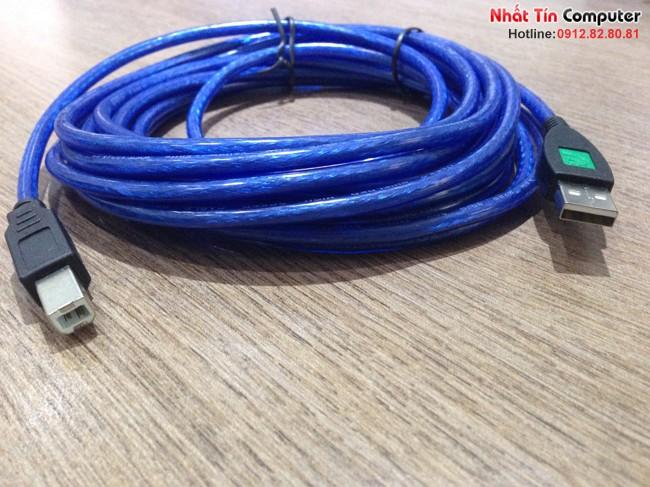 Cáp tín hiệu USB máy in 1,5M King-master chính hãng