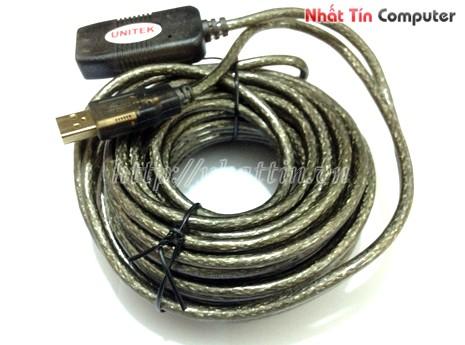 Cáp nối dài USB 10m Unitek Y-C260 giá rẻ,Cáp nối dài USB 10m Unitek Y-C260 chính hãng