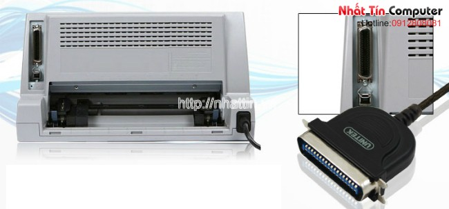 Cáp máy in USB to LPT, cáp máy in LPT, cap may in LPT, IEEE 1284