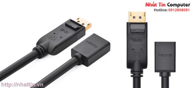 Cáp Displayport to HDMI Ugreen UG-20404