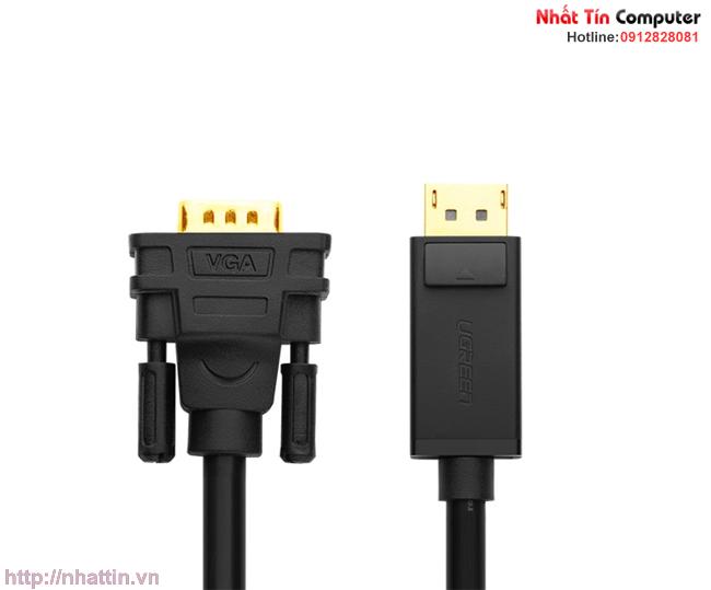 Hình ảnh : Cáp Displayport to VGA dài 3M chính hãng Ugreen UG-10236