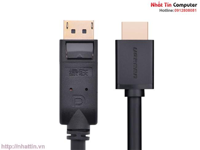 Cáp chuyển đổi Displayport to HDMI UG-10205