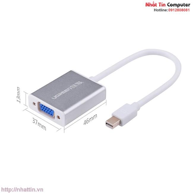 Cáp chuyển đổi Mini Displayport to VGA UG-10403 chính hãng Ugreen