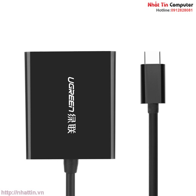 cap-chuyen-doi-usb-c-to-vga-chinh-hang-ugreen-ug-20587