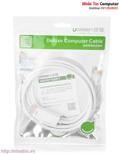 Cáp chuyển mini DisplayPort to HDMI cho Macbook, Macbook Pro chính hãng Ugreen MD101