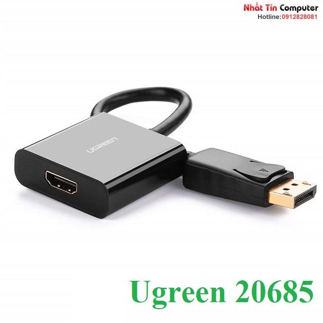 Hình ảnh : Đầu chuyển đổi Displayport sang HDMI Ugreen 20685