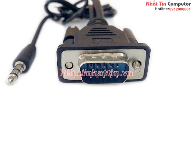 Đầu cáp chuyển đổi VGA + Audio sang HDMI CB01, hỗ trợ full HD1080p + có hình ảnh và âm thanh