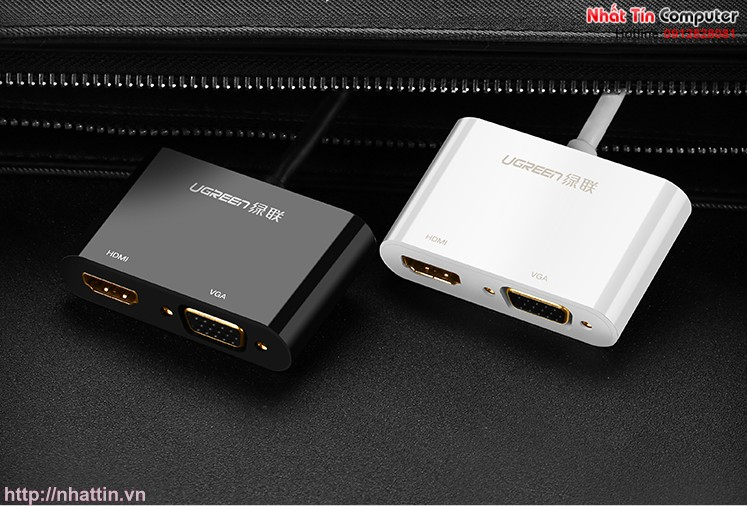 cap-chuyen-doi-displayport-to-hdmi-vga-chinh-hang-ugreen-ug-40367