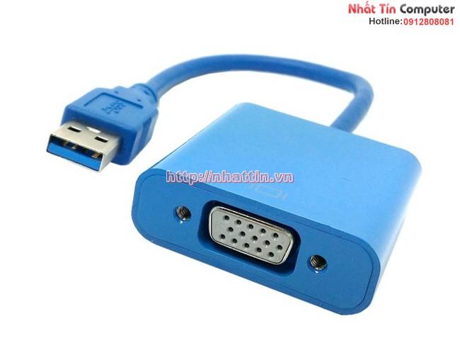 Cáp chuyển đổi USB 3.0 sang VGA cao cấp