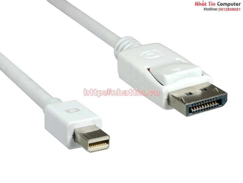 Cáp mini Displayport to Displayport cable 1,8m