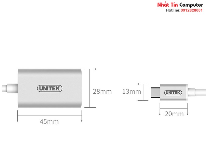 cap-chuyen-doi-usb-type-c-to-vga-chinh-hang-unitek-y-6315