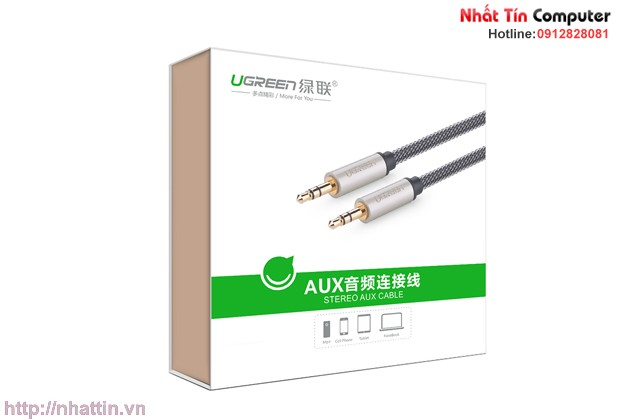 Cap-audio-aux-ugreen-1m-10602