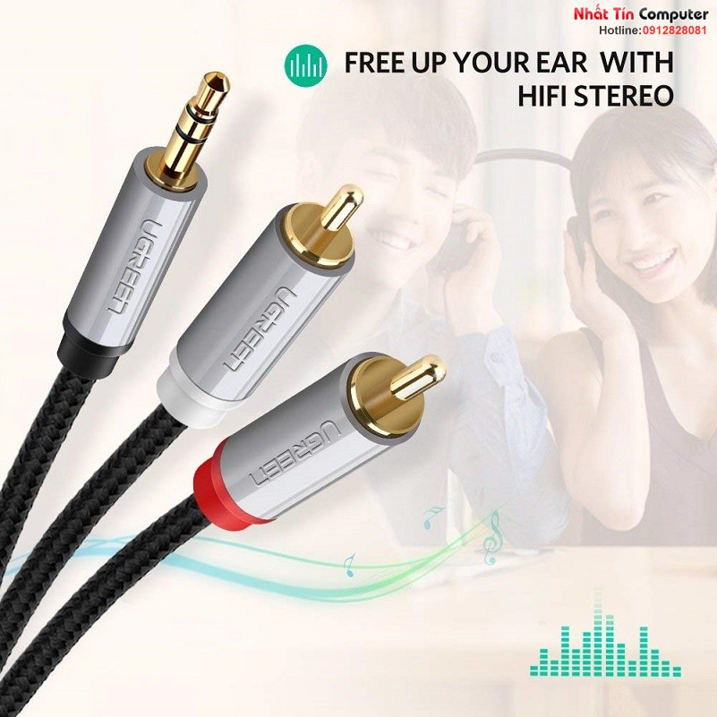 cap-audio-3-5mm-to-rca-dai-1m-chinh-hang-ugreen-40841