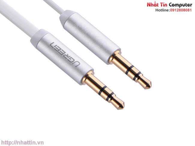 Cáp Audio 3.5mm 0.5M Ugreen 2 đầu mạ vàng 24K