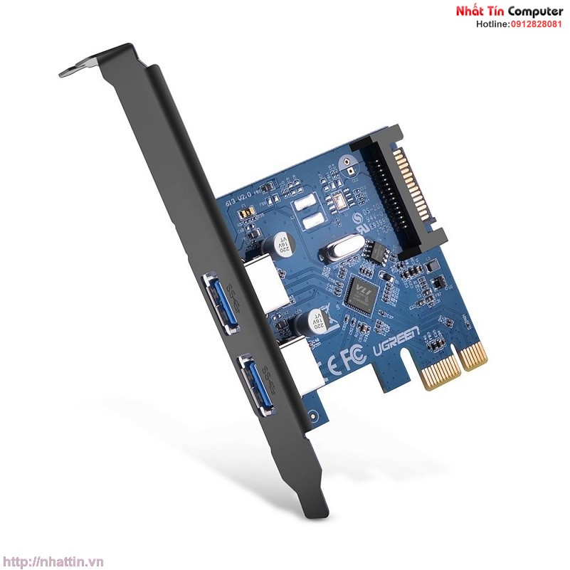 card-pci-express-sang-2-cong-usb-3-0-chinh-hang-ugreen-ug-30772