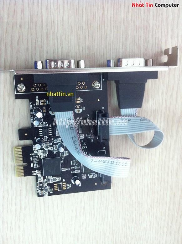 Card chuyển đổi PCI Express to Com RS232 DTech PC0082 Chính hãng
