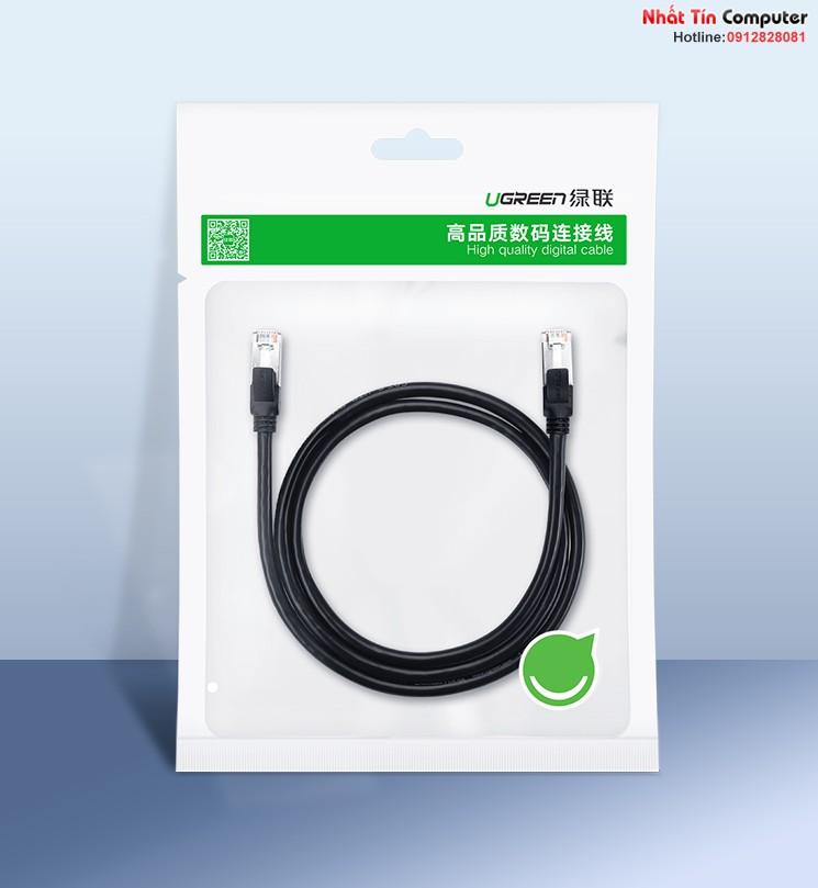 Cáp mạng Cat6 đúc sẵn dài 0,5m chính hãng Ugreen 50190 cao cấp