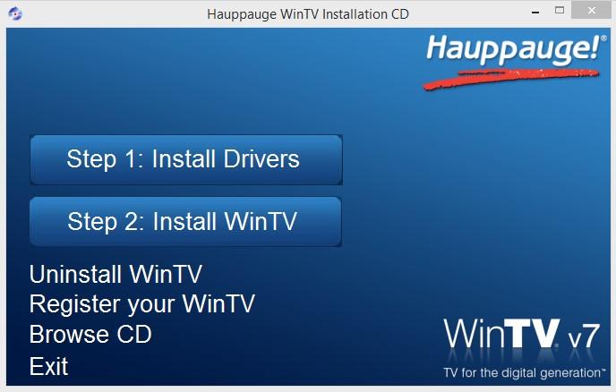 Hướng dẫn cài đặt Driver, WinTV cho Card Capture Hauppauge HVR-1200PAL