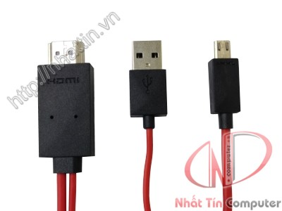 Cáp 2M Micro USB MHL to HDMI Galaxy Note2 , Galaxy S3