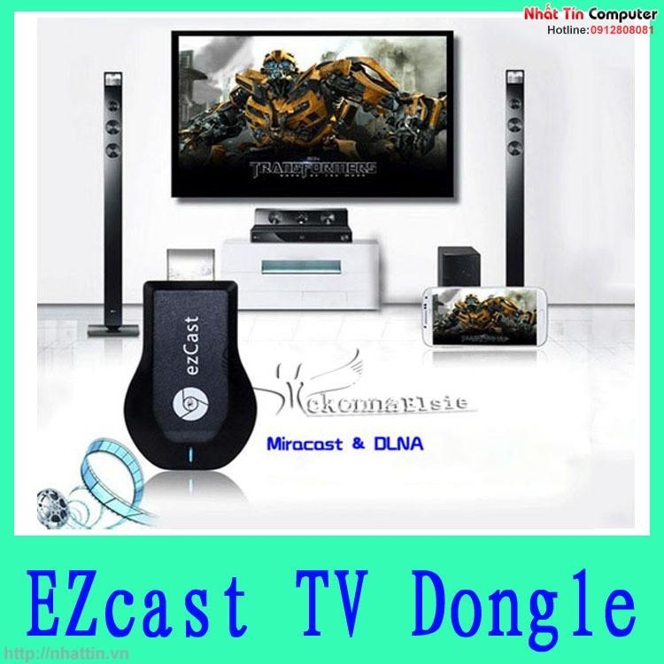 Thiết bị kết nối HDMI Không Dây từ Điện Thoại ra Tivi Ezcast M2 Dongle