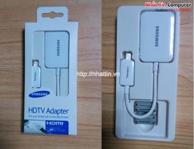 MHL to HDMI/HDTV Adapter for Samsung Galaxy S4 I9500,S3 I9300,Note2 N7100 & N5100