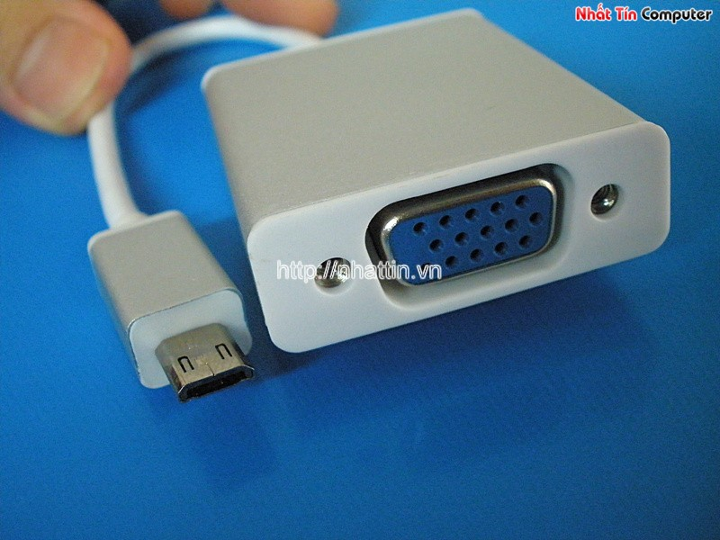 Cáp MHL to VGA máy chiếu cho Samsung galaxy Note 3/Note 2/ Tab 3 /S3/S4/Note 5100
