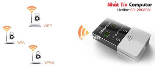 usb wifi mini, usb wifi cho macbook, wifi cho mac, macbook pro, comfast cf-wu715n