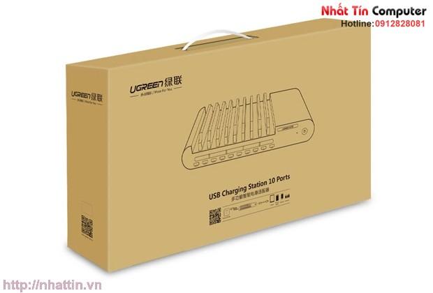 sac-da-nang-96w-12v-10-cong-usb-co-10-khe-cam-chinh-hang-ugreen-ug-20325-