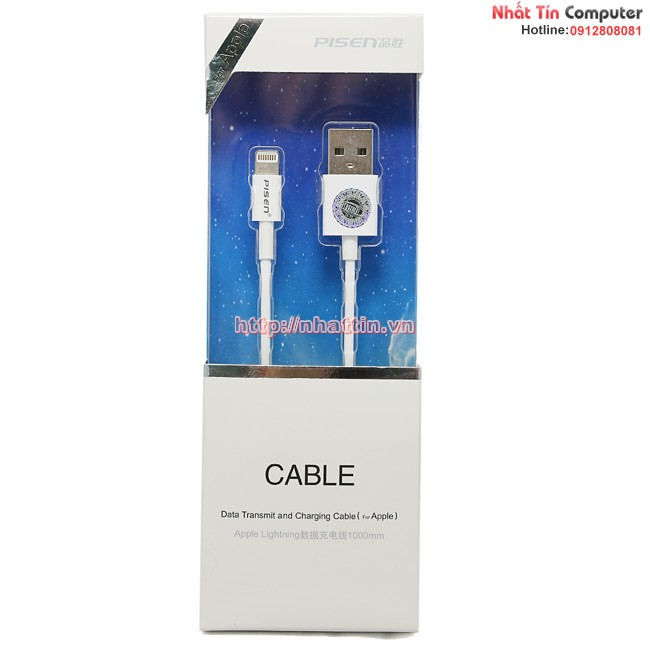 Cable Lightning for iPhone 5/6 iPad 4 iPad Mini (100cm)