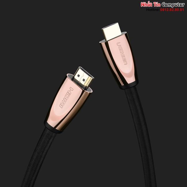 Cáp HDMI 2.0 dài 8M cao cấp hỗ trợ Ethernet + 4k 3D HDMI chính hãng Ugreen UG-11104