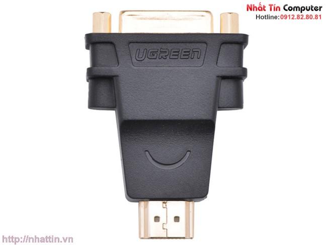 Đầu rắc chuyển đổi DVI-I Female to HDMI Male Ugreen UG-20123 Cao cấp