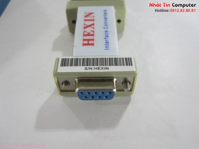 Bộ chuyển đổi tín hiệu RS232 sang RS485 Hexin HXSP-485