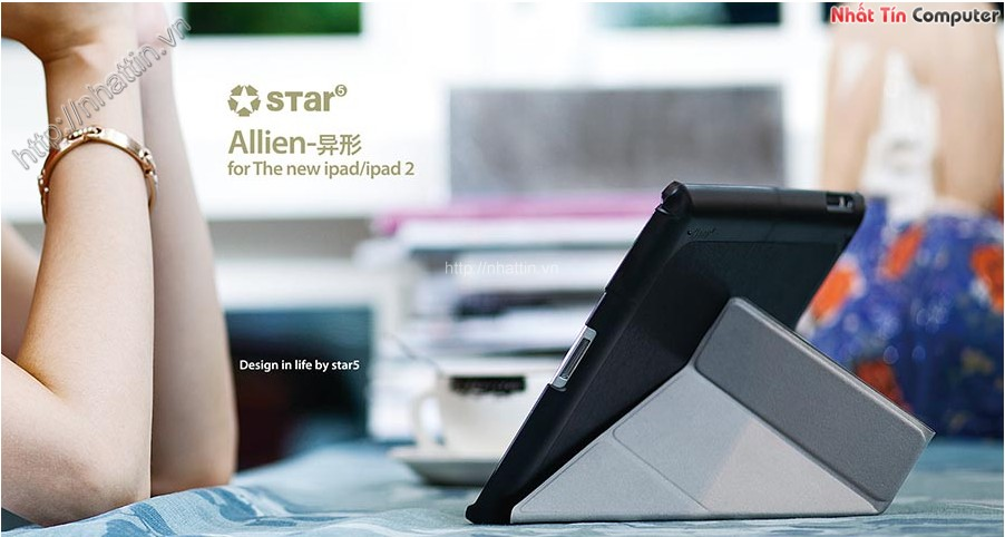 Bao Da iPad 3 Star5 Ultra Thin Alien Series