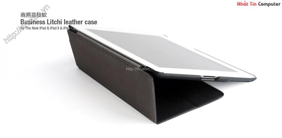Bao da iPad 2 & 4 HOCO Business Litchi leather