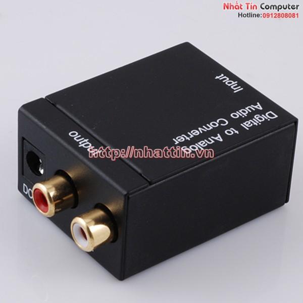 Bộ converter optical,Coaxial cáp quang sang AV,RCA SmartLink