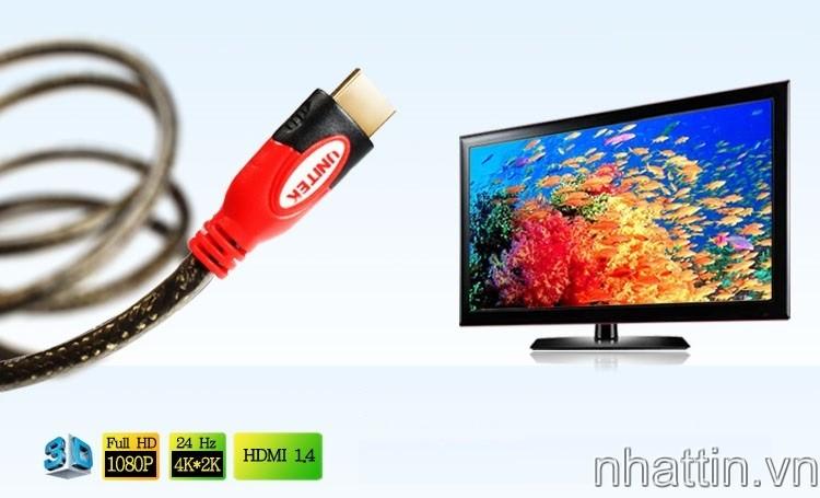 Cáp-HDMI-to-HDMI-3m-Unitek-1.4-3D