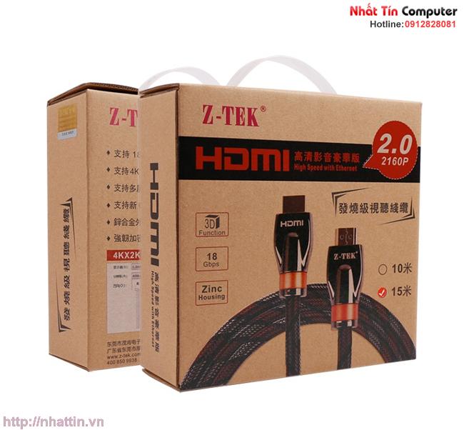 cap-hdmi-2-0-dai-10m-chinh-hang-z-tek-zy-274-
