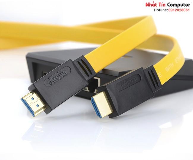 Cáp HDMI 2.0 Jasun JS-026 dài 20m hỗ trợ 2K 4K 60Hz 3D chính hãng