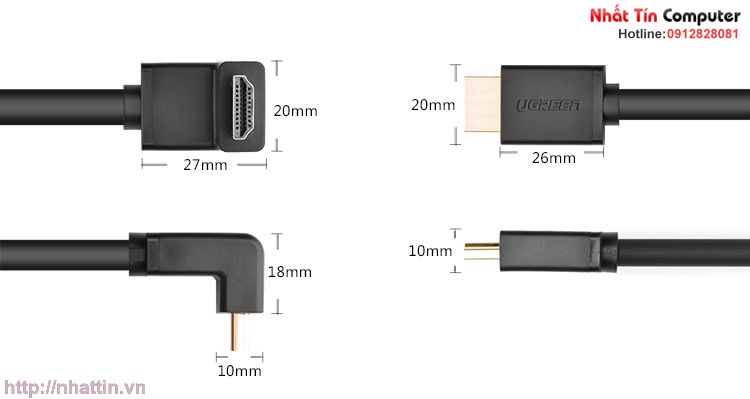 cap-hdmi-5m-be-goc-len-90-do-3d-4k×2k-ugreen-ug-10123