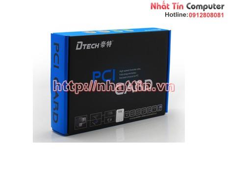 Card chuyển đổi PCI to 2 COM Dtech chính hãng